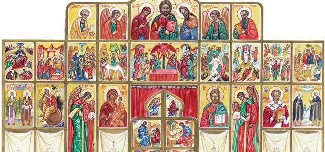 Pyhät perinteet -kirjan kuvituskuva