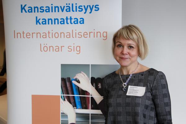 Portrait of Liisa Timonen from the Karelia university of applied sciences