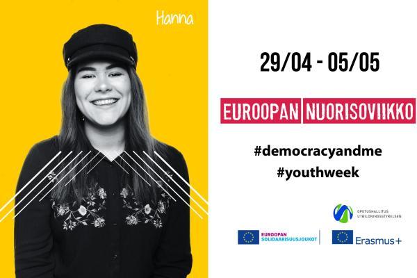 Euroopan nuorisoviikon kampanjakäyttöön - Hanna Kivimäki
