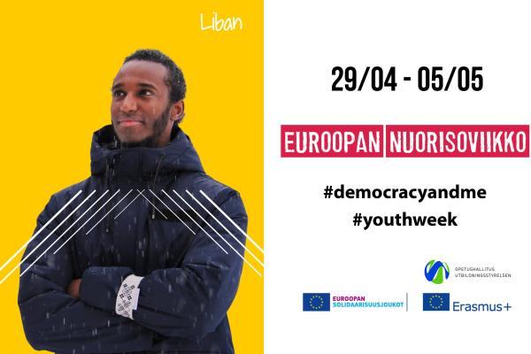 Euroopan nuorisoviikon kampanjakäyttöön - Liban Sheikh
