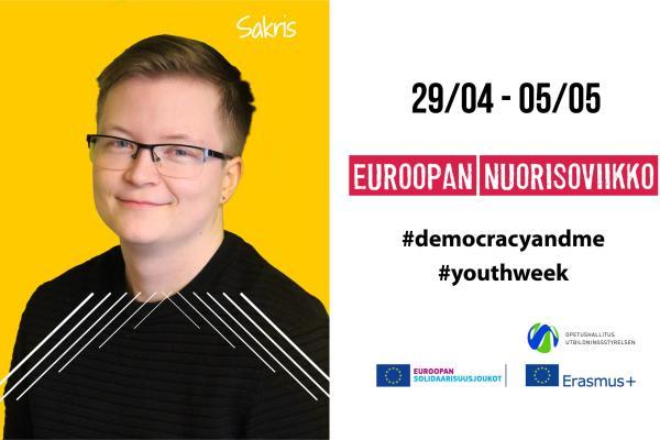 Euroopan nuorisoviikon kampanjakäyttöön - Sakris Kupila