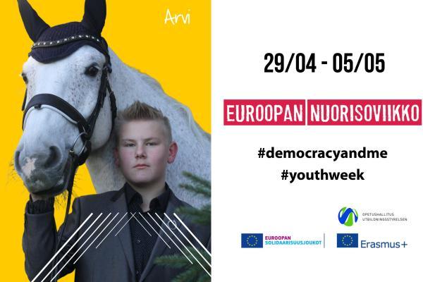Euroopan nuorisoviikon kampanjakäyttöön - Arvi Martikainen