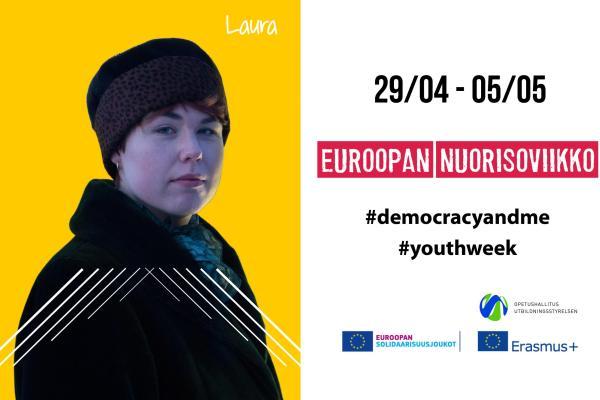Euroopan nuorisoviikon kampanjakäyttöön - Laura Kolehmainen