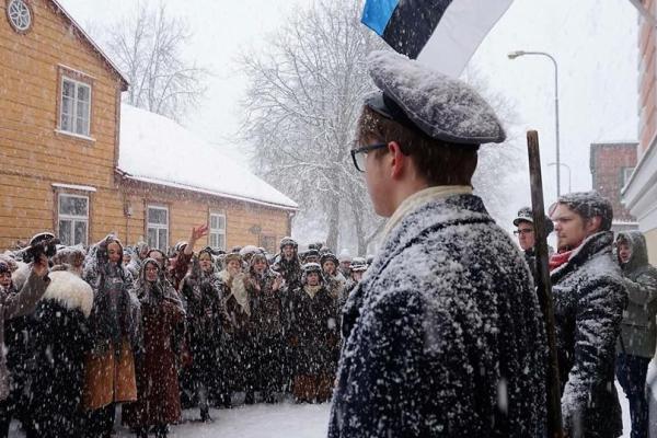 Estlands tidsresa till år 1918