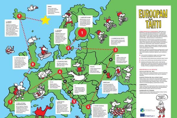 Euroopan tähti -juliste