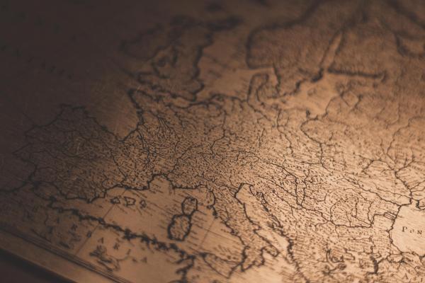 Vanha Euroopan kartta