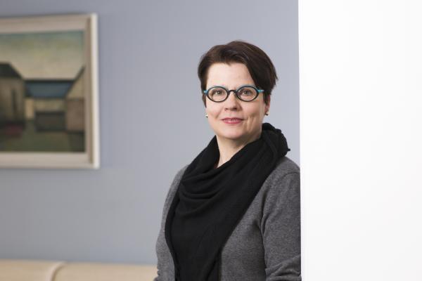 Kuvassa Opetushallituksen johtaja Anni Miettunen