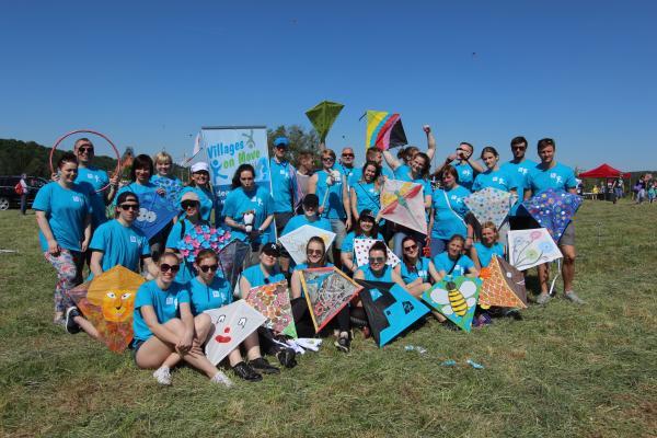 Erasmus + Sport: Leijat-ryhmän joukkuekuva