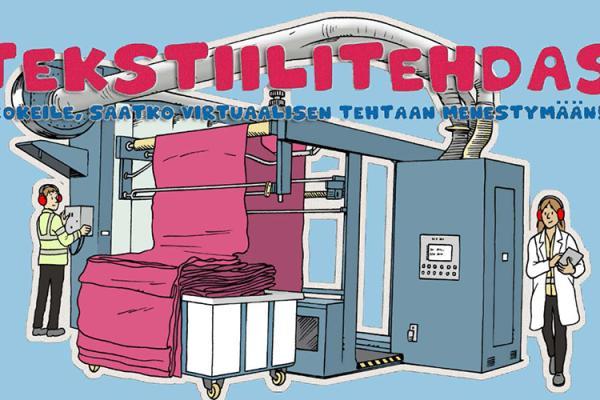 Tekstiilitehdas-oppimispeli