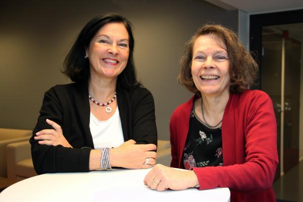 Kristiina Kaihari ja Paula Mattila