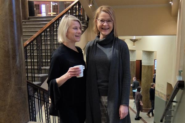 Satu Linden ja Maria Ampuja