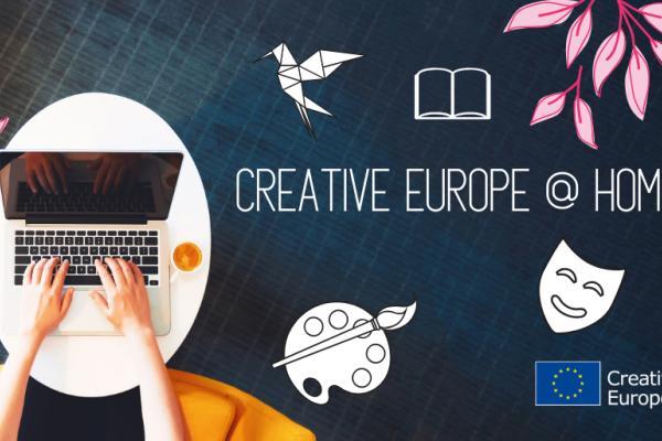 Sosiaalisen median kampanja Luova Eurooppa-hankkeille.