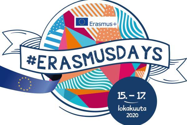 ErasmusDays2020-tapahtuman logo