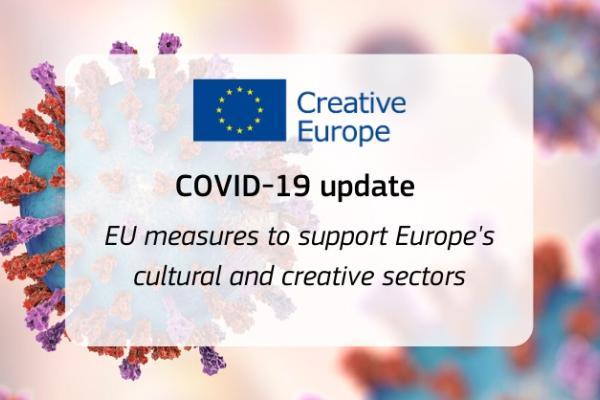 EU:n koronatukitoimet kulttuurille ja luoville aloille