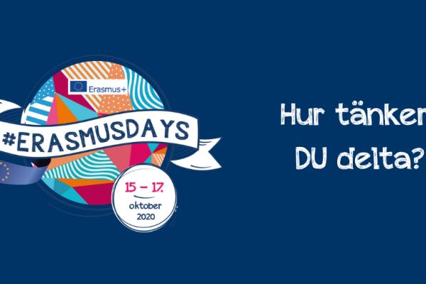 #ErasmusDays kommer igen