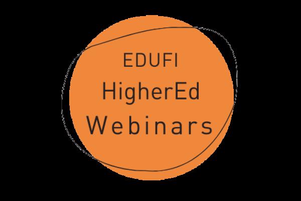 EDUFI HigherED webinars logo