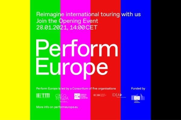 Perform Europe logo ja avajaistilaisuus 28.1.