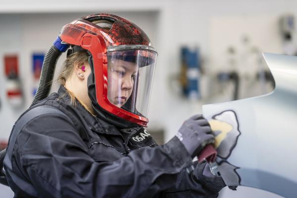 Automaalauslaji Taitaja2021-semifinaaleissa