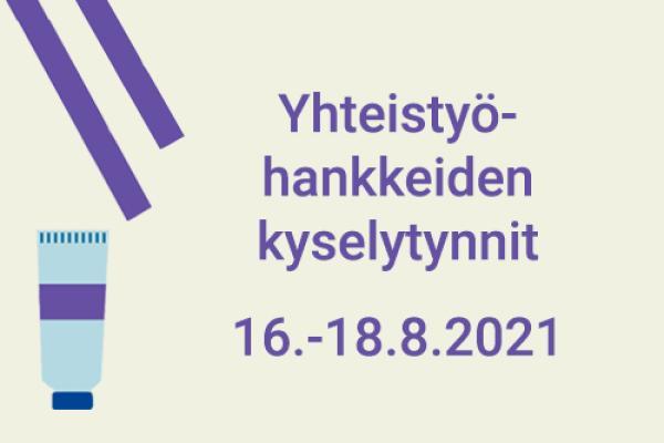 Luova Eurooppa -yhteistyöhankkeiden kyselytunnit 16.-18.8.2021