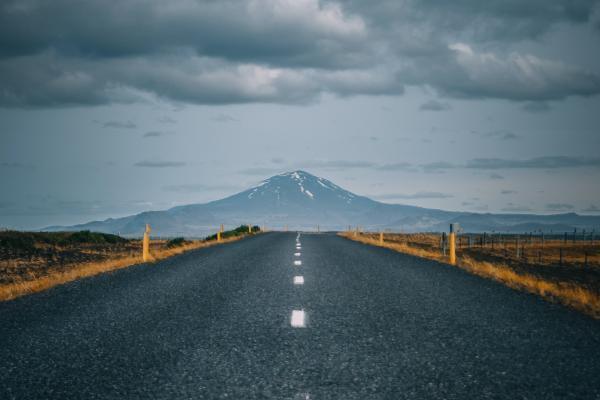 Kuva Islantilaisesta maisemasta