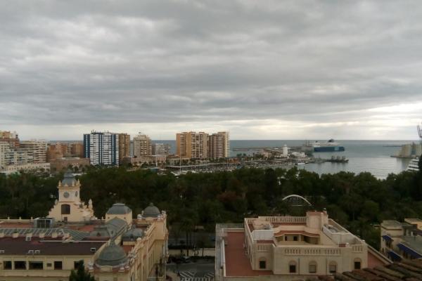 Maisema kuva parvekkeelta