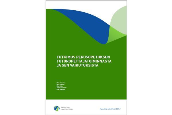 Tutkimus perusopetuksen tutoropettajatoiminnasta ja sen vaikutuksista