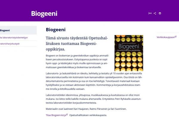 Biogeeni