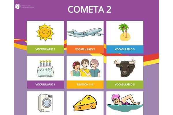 Cometa 2 -oppilaan digiharjoitukset
