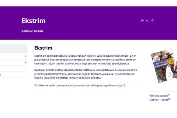 Ekstrim