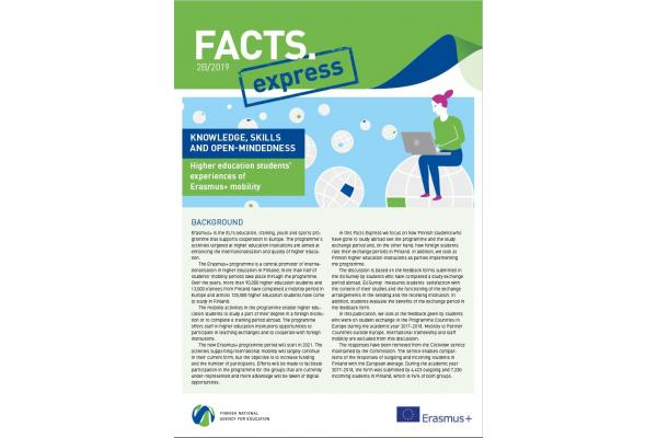 Facts Express 2B/2019: Knowledge, skills and open-mindedness