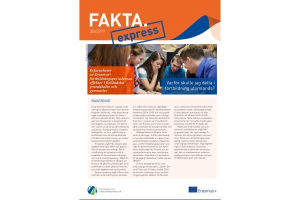 Fakta Express 3B/2019: Varför skulle jag delta i fortbildning utomlands?