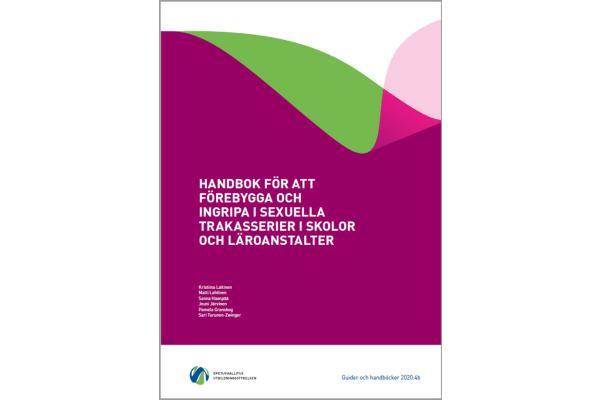 Handbok för att förebygga och ingripa i sexuella trakasserier i skolor och läroanstalter