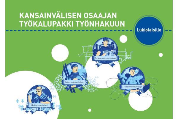 Kansainvälisen osaajan työkalupakki työnhakuun lukiolaisille