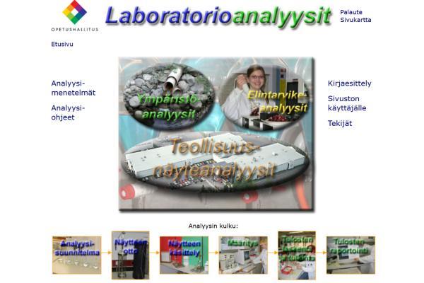 Laboratorioanalyysit