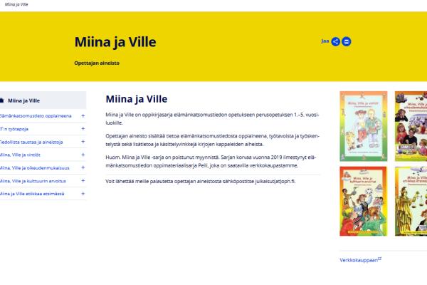 Miina ja Ville