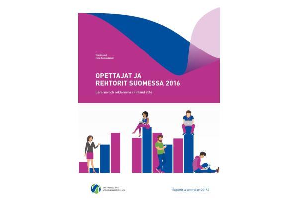 Opettajat ja rehtorit Suomessa 2016 -esite