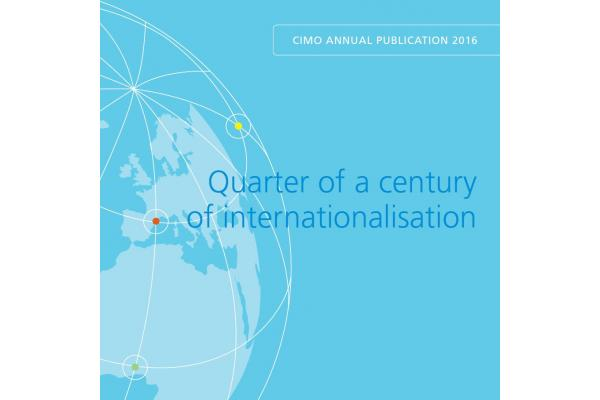 Quarter of a century of internationalisation