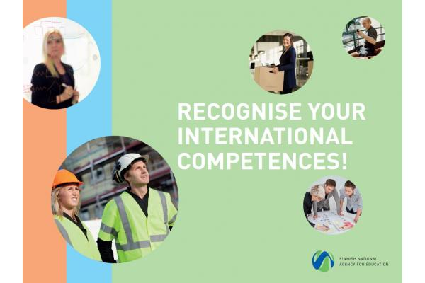 Recognise your international competences