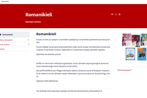 Romanikieli