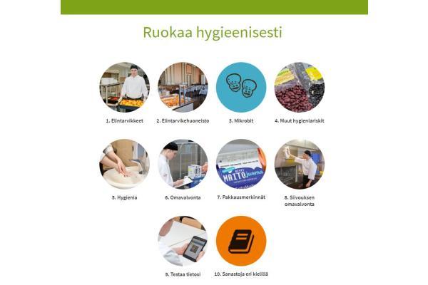 Ruokaa hygieenisesti