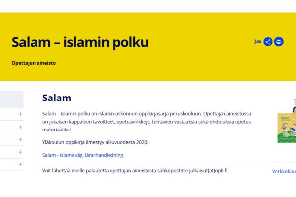 Salam – islamin polku