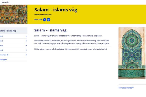 Salam – islams väg