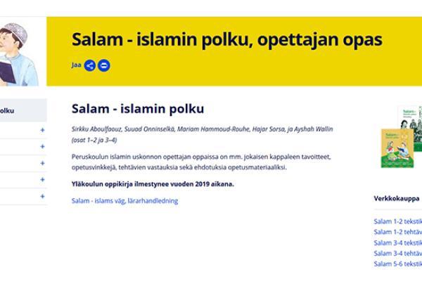 Salam – islamin polku, opettajan opas