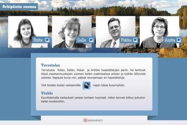 Arkipäivän suomea maahanmuuttajille