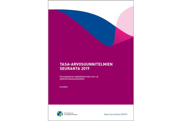 Tasa-arvosuunnitelmien seuranta 2019