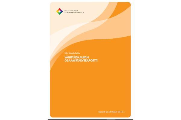 Vähittäiskaupan osaamistarveraportti
