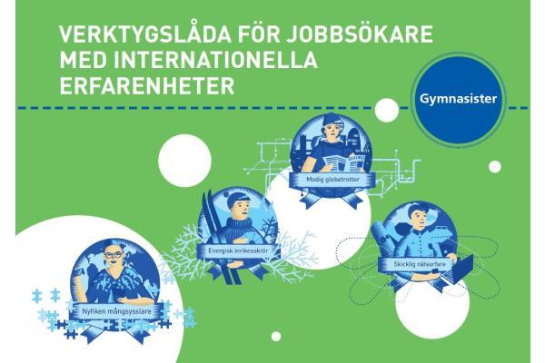 Verktygslåda för jobbsökare med internationella erfarenheter - gymnasister