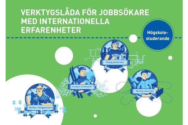 Verktygslåda för jobbsökare med internationella erfarenheter - högskolestuderande