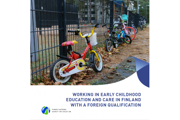 Working in early childhood education and care in Finland with a foreign qualification
