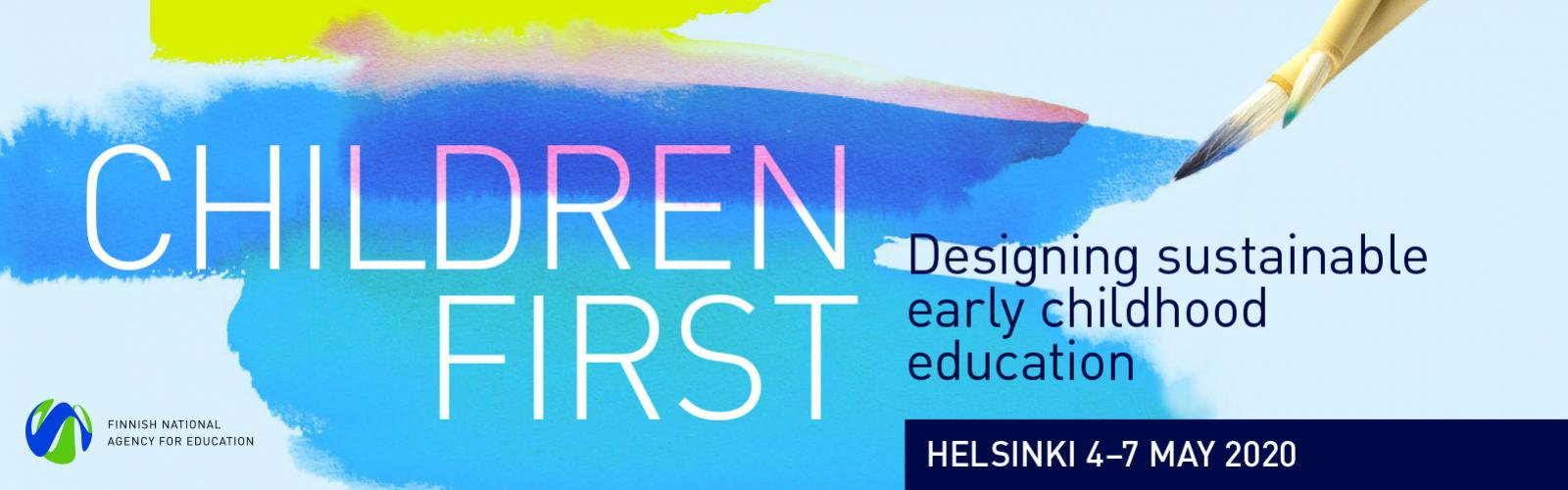 Children first banner